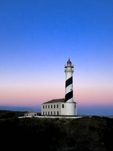 Lighthouse of Favaritx (Menorca). by Roland Bach 